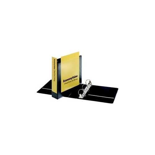 "Cardinal 2"" Black EconomyValue Slant-D Binder Without Packaging 6pk (CRD-90760) Image 1"