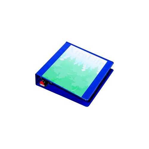 "Cardinal 2"" Blue XtraLife ClearVue Locking Slant-D Ring Binder 12pk (CRD-26322) Image 1"