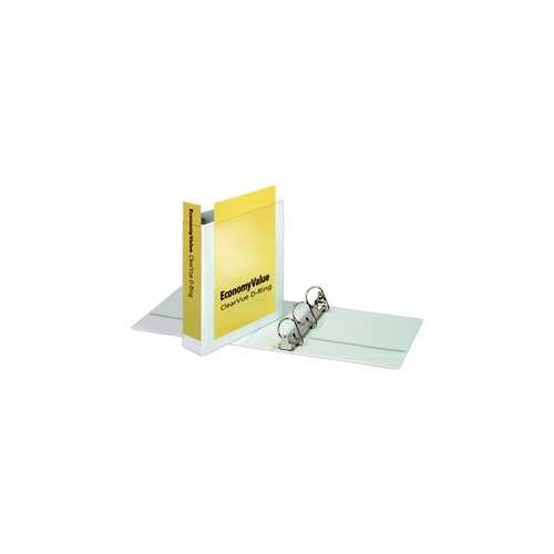 "Cardinal 2"" White EconomyValue Slant-D Binder Without Packaging 6pk (CRD-90761) Image 1"