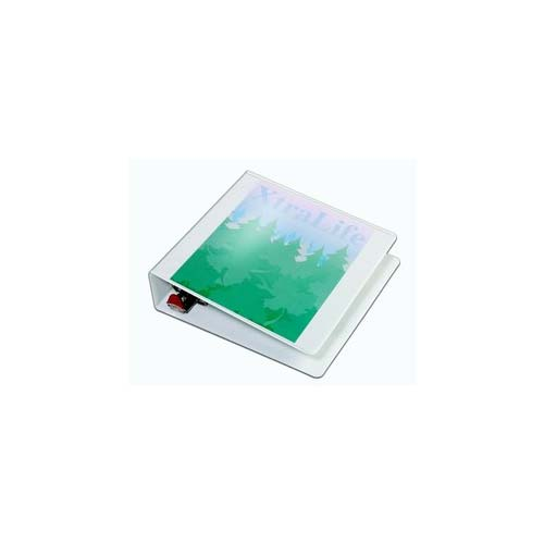 White Xtralife Clearvue Binder Image 1