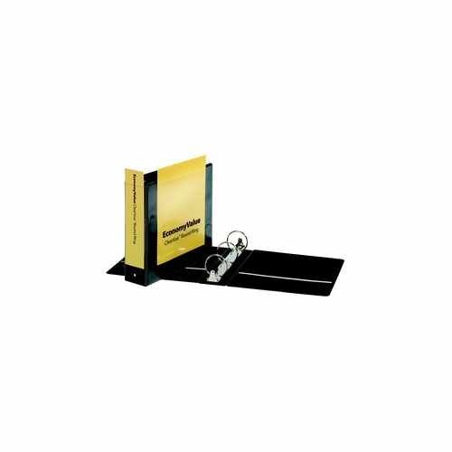 "Cardinal 3"" Black EconomyValue Ring Binder Without Packaging 12pk (CRD-90650) Image 1"