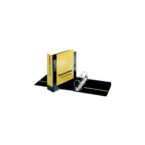 "Cardinal 3"" Black EconomyValue Slant-D Binder Without Packaging 6pk (CRD-90770) Image 1"