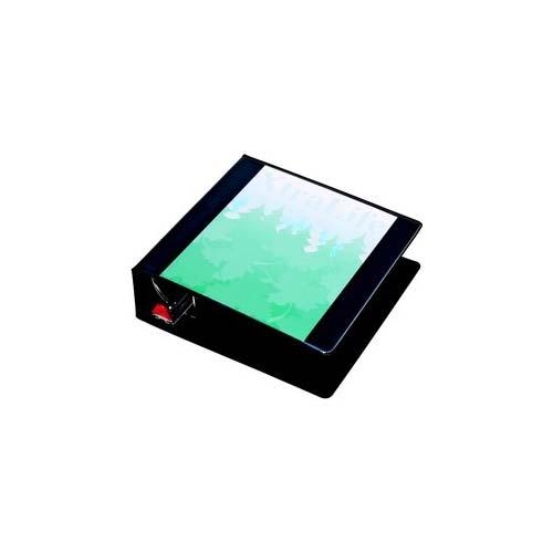"Cardinal 3"" Black XtraLife ClearVue Locking Slant-D Ring Binder 6pk (CRD-26331) Image 1"