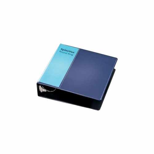 "Cardinal 3"" Navy SpineVue Locking Round Ring Binder 6pk - V3 (CRD-16902) Image 1"