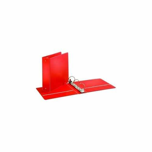 Red Round Ring Binder Image 1