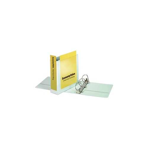 "Cardinal 3"" White EconomyValue Slant-D Binder Without Packaging 6pk (CRD-90771) Image 1"