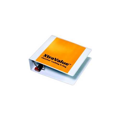 Xtravalue Clearvue Slant Ring Binder Image 1