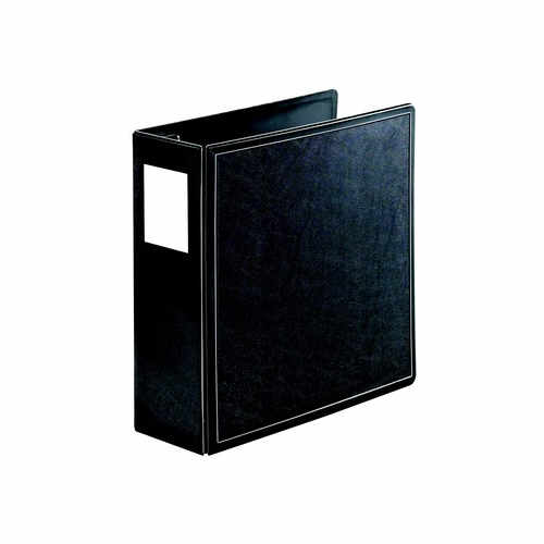 "Cardinal 4"" Black EasyOpen SuperLife Locking Slant-D Binder 6pk - CB (CRD-14042) Image 1"