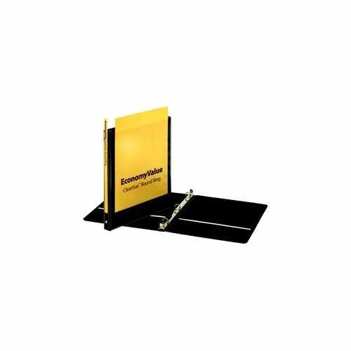 "Cardinal 5/8"" Black EconomyValue Ring Binder Without Packaging 12pk (CRD-90602) Image 1"