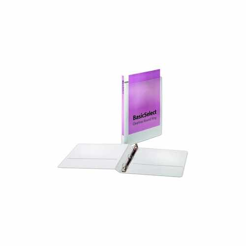 Basicselect Clearvue Round Ring Binder Image 1