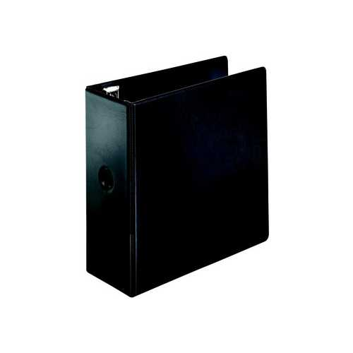 "Cardinal 5"" Black EasyOpen Locking Slant-D Ring Binder 2pk - CB (CRD-18762) Image 1"
