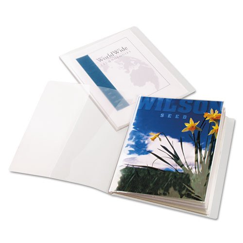 Cardinal Clear ShowFile ClearThru 12 Pocket Presentation Book 24pk (CRD-51532) Image 1