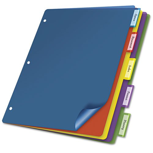 Color Tab Pocket Divider