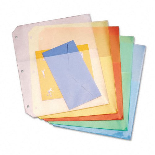 Cardinal Multi-Color Poly Ring Binder Double Pockets 24pk (CRD-84007) Image 1