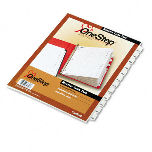 Monthly Dividers for Binders Image 1