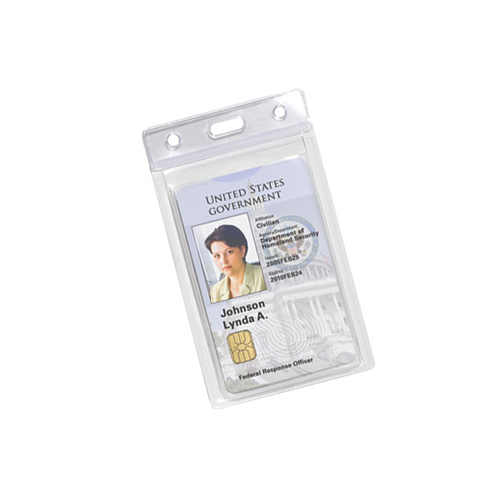Clear Credit Card Holder Image 1