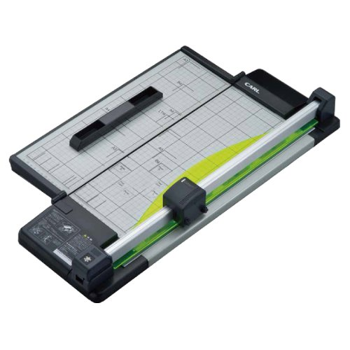 "Carl DC-F5300 17"" Heavy-Duty Rotary Paper Trimmer with Foldable Base (CUI25100) Image 1"