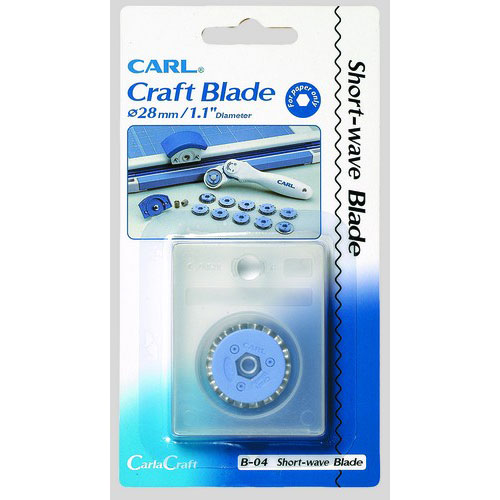 Carl Replacement Short-Wave Blade - 1 Pack (B-04) (CUI15004) Image 1