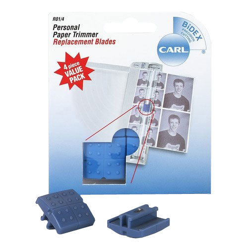 Carl Replacement Straight Blade - 4 Pack (CUI15101) Image 1