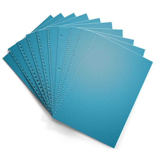 Celestial Blue Astrobrights 24lb Punched Binding Paper - 500 Sheets (PPP24ABCB)