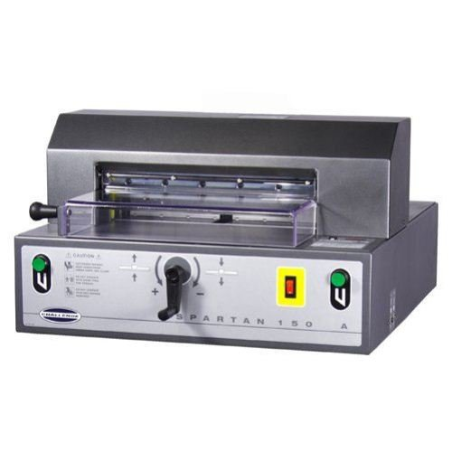 "Challenge Spartan 150A 15.75"" Automatic Electric Paper Cutter w/ Power Clamp (CH-SPARTAN150A) Image 1"