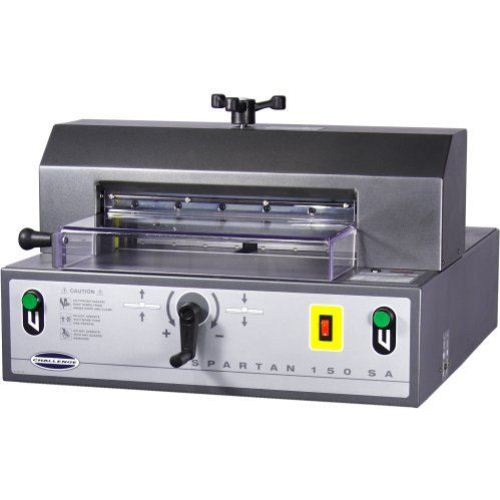 Spartan Semi Automatic Electric Paper Cutter Equipment Image 1