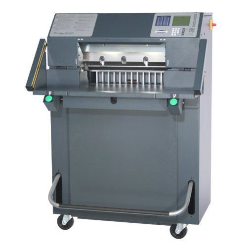 "Challenge Titan 200 TC 20"" Hydraulic Programmable Cutter with Light Beams and Colored Touch Screen (CH-TITAN200TCL) Image 1"