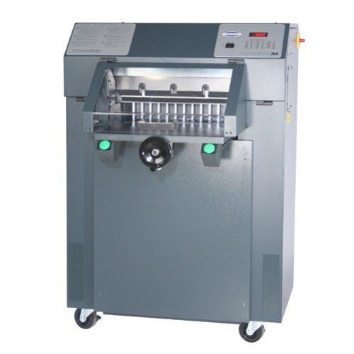 "Challenge Titan 200BC 20"" Hydraulic Paper Cutter with Light Beam (TITAN200BCLB) Image 1"