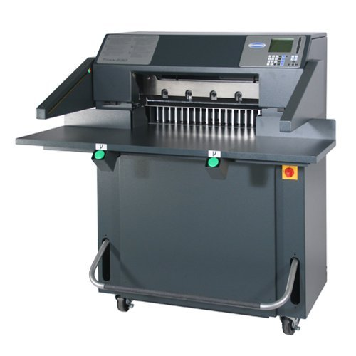 "Challenge Titan 230 TC 23"" Hydraulic Programmable Paper Cutter w/ Color Touch Screen Control (CH-TITAN230TC) Image 1"