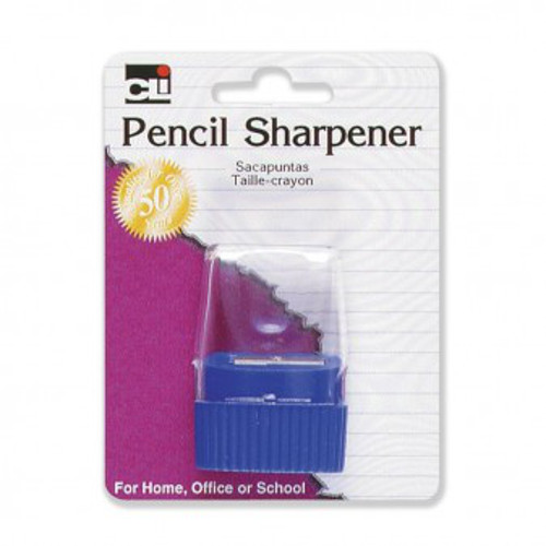 Charles Leonard Assorted Cone Receptacle Pencil Sharpener (LEO-80730) Image 1