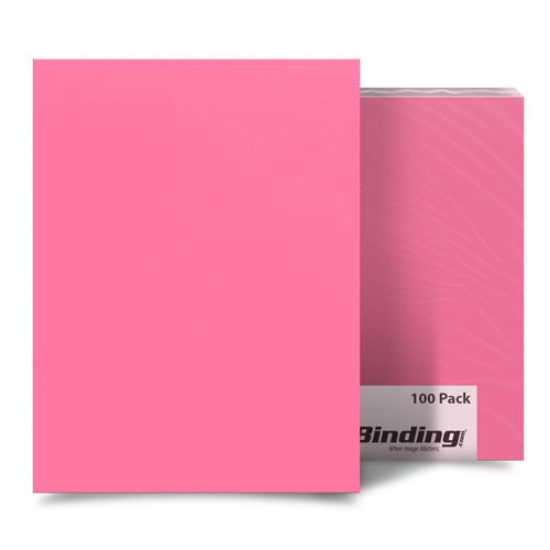 "Cheery Cherry 11"" x 17"" Card Stock Covers - 100pk (MYCS11X17CH), MyBinding brand Image 1"
