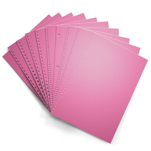 Cherry 20lb Punched Binding Paper - 500 Sheets (PPP20DMCH) Image 1