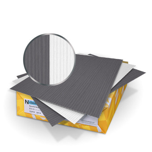 Charcoal Neenah Papers Duplex Cover Image 1
