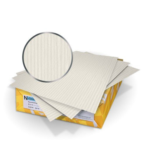 "Neenah Paper 8.5"" x 11"" Classic Columns Binding Covers With Windows - 50 sets (Letter Size) (MYNCCW8.5X11) Image 1"