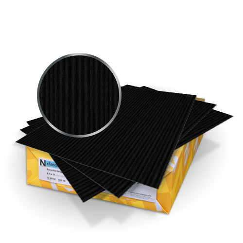 "Neenah Paper Classic Columns Epic Black 8.5"" x 11"" 120lb Covers - 50pk (MYNCC8.5X11EB120) - $46.79 Image 1"