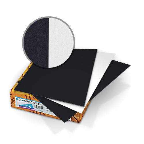 "Neenah Paper Classic Crest Epic Black - Solar White 11"" x 17"" 120lb Duplex Covers - 50pk (MYCCC11X17EBKSW480) Image 1"