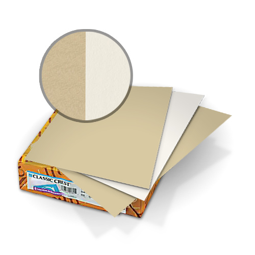 Neenah Paper Classic Crest Saw Grass - Recycled 100 Natural White 5.5