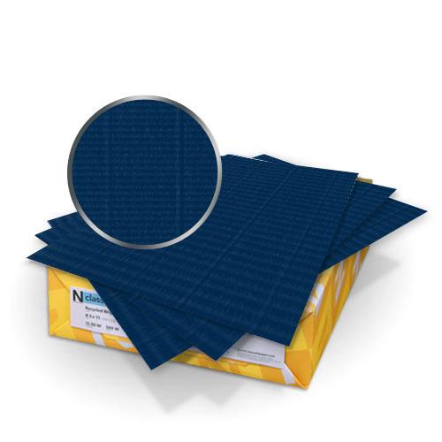 "Neenah Paper Classic Laid Patriot Blue 9"" x 11"" 80lb Covers - 50pk (MYCLC9X11CPB320) Image 1"