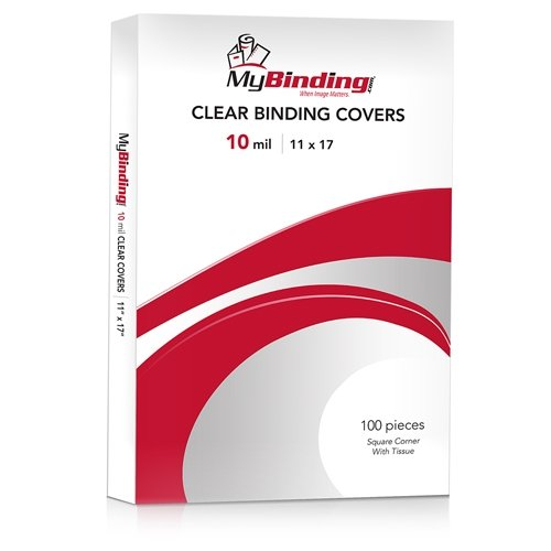 Clear View Binding Covers 10 Mil Image 1