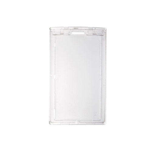 Clear Horizontal Locking Plastic Card Holder - 50pk (MYBP706LN) Image 1