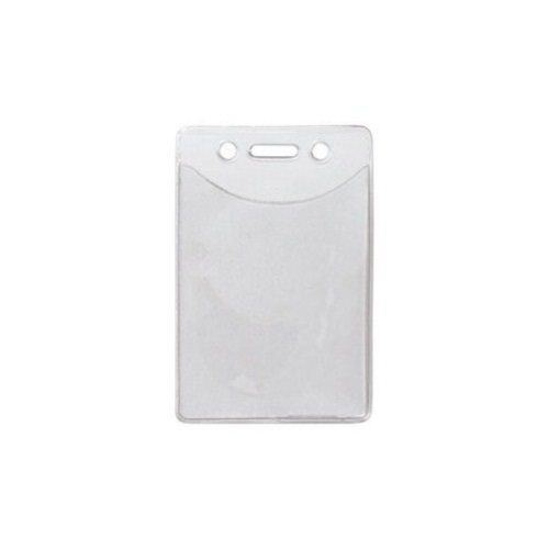Clear Vertical Anti-Print Transfer Badge Holders - 100pk (1815-1150) - $44.01 Image 1