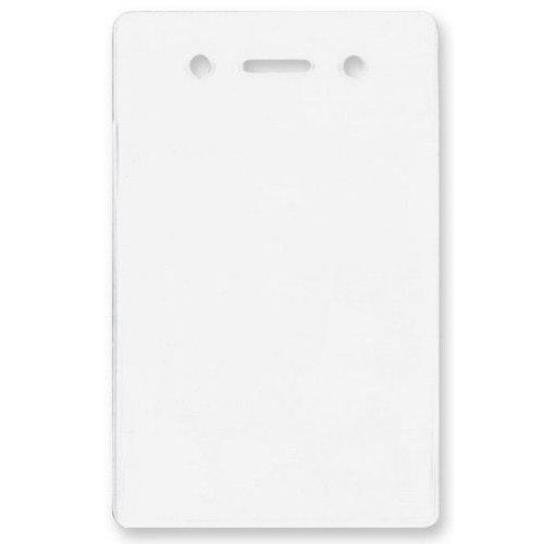 Clear Vertical Proximity Badge Holder with Slot and Holes - 100pk (1840-5060) Image 1
