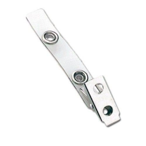 Clear Vinyl Straps with 2-Hole Clips - 500pk (2105-2000) Image 1