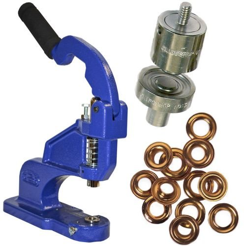ClipsShop CSTEP-2 Grommet Press Kits with #3 Self-Piercing Die and 500 Grommets (GROMCSTP2K3-GRP) Image 1