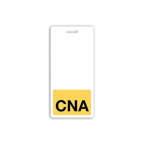 CNA Vertical Badge Buddies (Yellow Bar/Black Text) - 25pk (1350-2140) Image 1