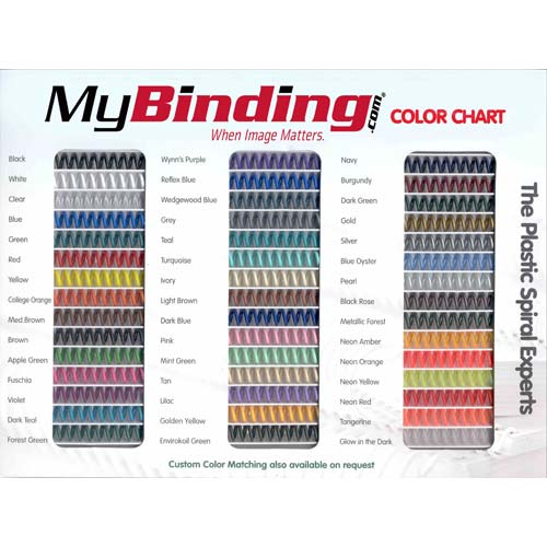 Color Coil Binding Supplies Image 1