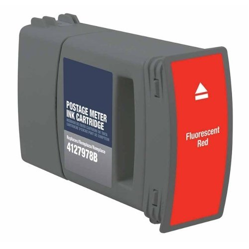 Compatible Red Ink Cartridge (4127978B) for Hasler WJ220 Postage Meter - 1pk (MRH7978) - $351.98 Image 1