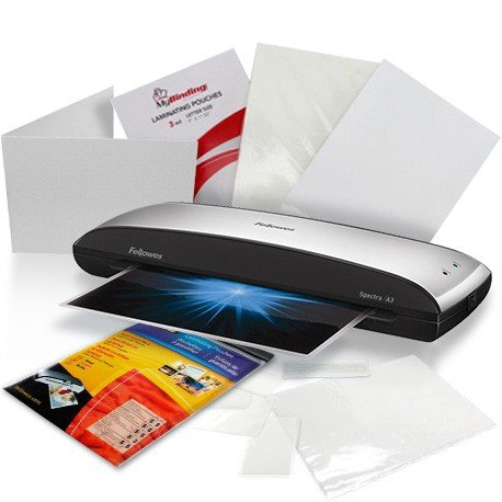 Fellowes Pouch Laminating Starter Kits Image 1