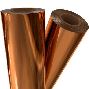 "Copper Metallic 12"" x 100' Laminating / Toner Fusing Foil (COP-30-12) Image 1"