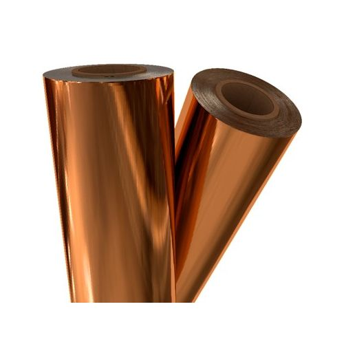 "Copper Metallic 21"" x 500' Toner Fusing/Sleeking Foil - 3"" Core (COP-30-3-21) - $197.3 Image 1"